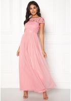 Vila Ulricana S/s Maxi Dress Bridal Rose 44