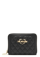 Love Moschino Wallet 00b Black/gold One Size