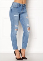 Vero Moda Ashley Cigarette Ankle Medium Blue Denim 29/32