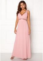 Chiara Forthi Tilia Embellished Dress Powder Pink 44