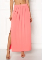 Only Nova Lux Maxi Skirt Solid Strawberry Ice 34