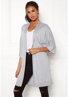 Vila Lesly 3/4 Sleeve Knit Cardigan Light Grey Melange M