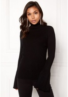 Vero Moda Nor Walk Glory Ls Blouse Black Beauty L