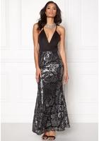 Sisters Point Nalow Dress Black/silver Xs
