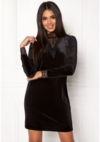 Vero Moda Viola Lace L/s Dress Black Xs