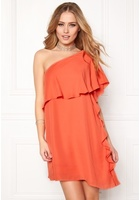 Vila Vipaly Dress Persimmon S