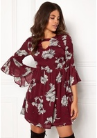 Sisters Point Grass Dress Ruby Wine/flower S