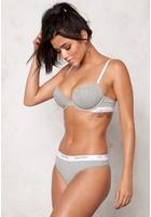 Calvin Klein Ck One Cotton Thong Grey Heather L