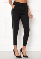 Only Poptrash Piping Pant Black S/34