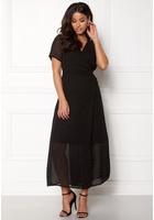 Object Gamilla S/s Long Dress Shady Glade 34