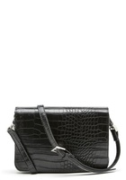 Object Ivy Pu Crossover Bag Black One Size