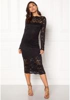 Vila Grit L/s Dress Black Xs
