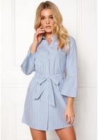 Happy Holly Filippa Shirt Dress Striped 32/34