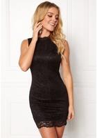 Happy Holly Vienna Lace Dress Black 40/42s