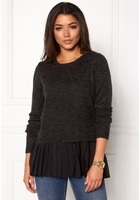 Object Bell Pullover Black L