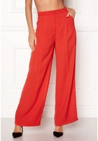 Vero Moda Lanjuli Hw Wide Pants Poppy Red 40