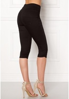 Happy Holly Becky Capri Jeggings Black 36