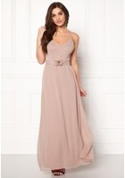 Vero Moda Tia Corsage Maxi Dress Rose Dust M