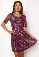 Vila Rachel 2/4 Dress Fig L