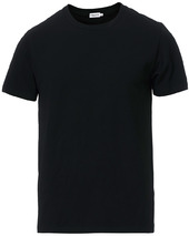 Filippa K Soft Lycra Tee Black