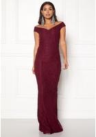 Bubbleroom Jennifer Lace Dress Dark Red 38
