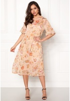 Vila Mouna S/s Medi Dress Peach Blush 38
